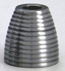 Castiçal canelado 8 cm de altura (CA401)