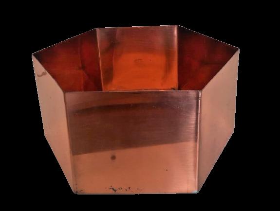 CAXEPAUX HEXAGONAL - COBRE (SP11)