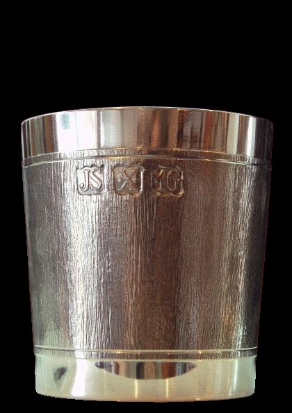 Copo para whisky corrugado com duas linhas (P7DC)