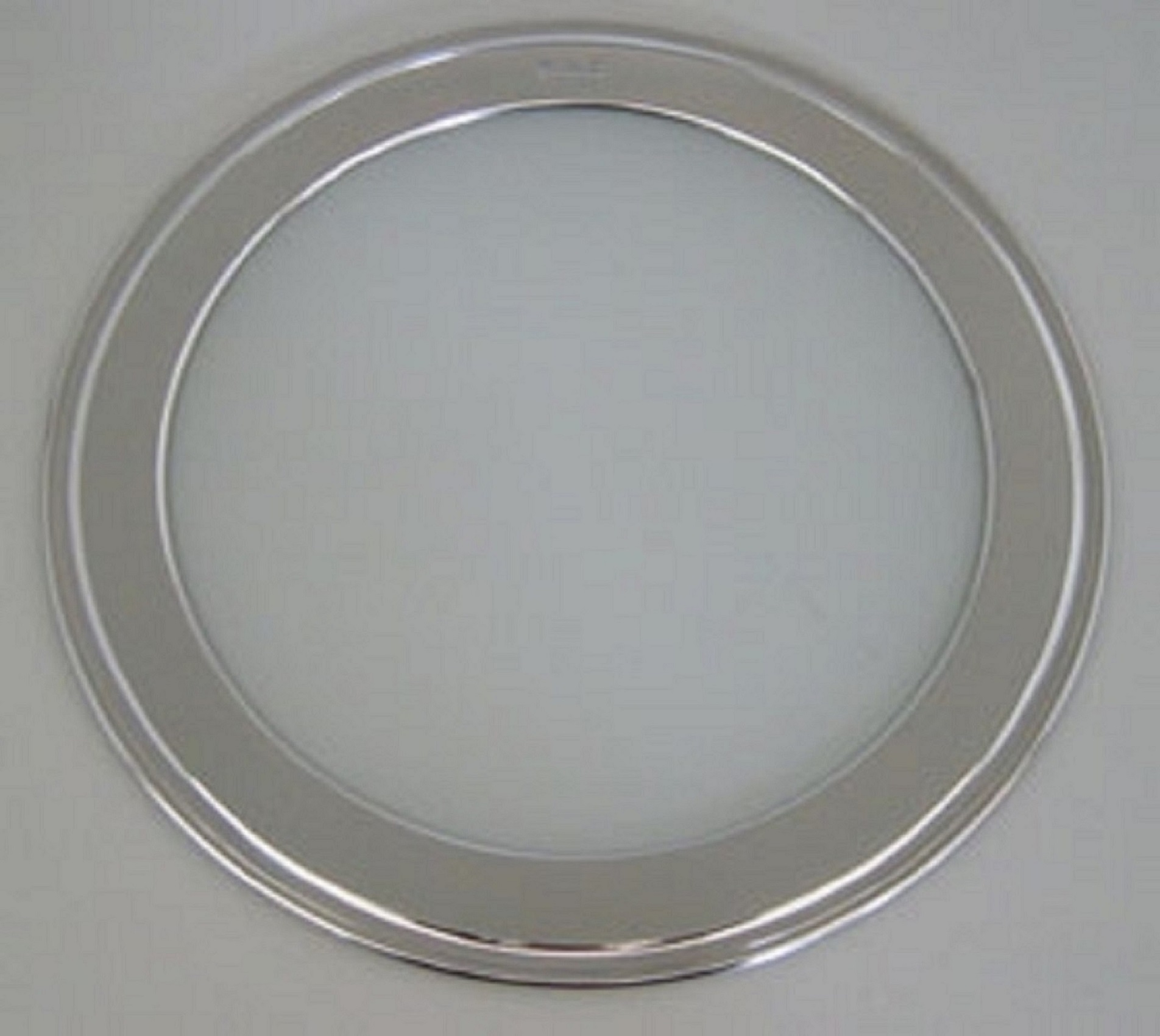 Sousplat fundo de vidro borda fina (P430)
