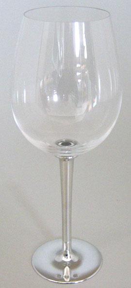 Taça de cristal para ÁGUA ESPECIAL, capacidade 550ml com haste de estanho do tipo lisa (P426P18)
