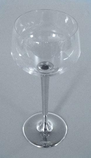 Taça de cristal para BOURGOGNE P, capacidade 200ml com haste de estanho do tipo lisa (P426M18)