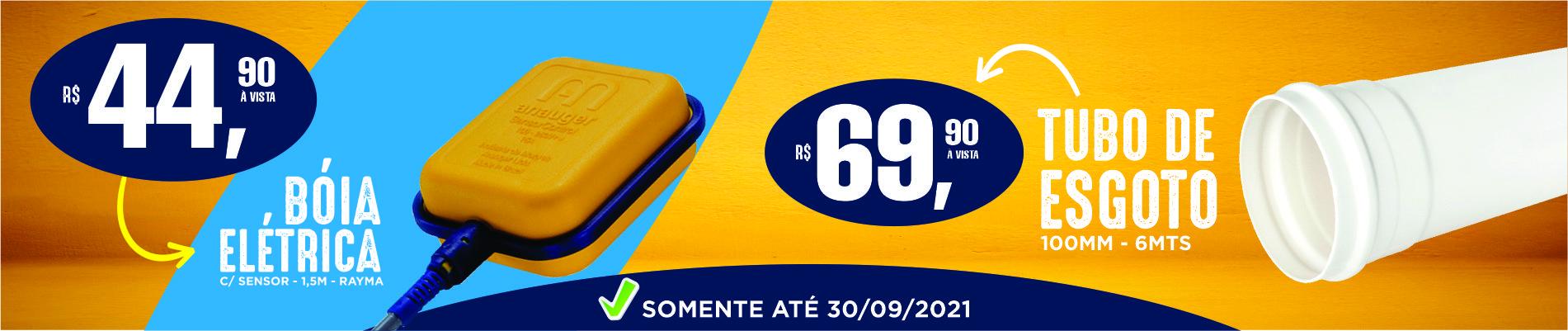 Banner Boia Elétrica/ Tubo