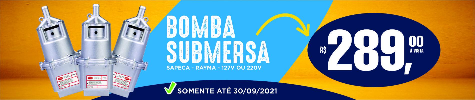 Banner Bomba Submersa