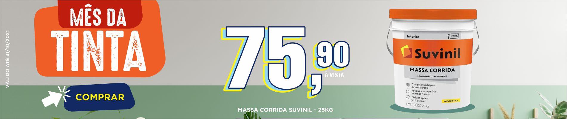 Banner Massa Corrida - Inicio: 01/10/21