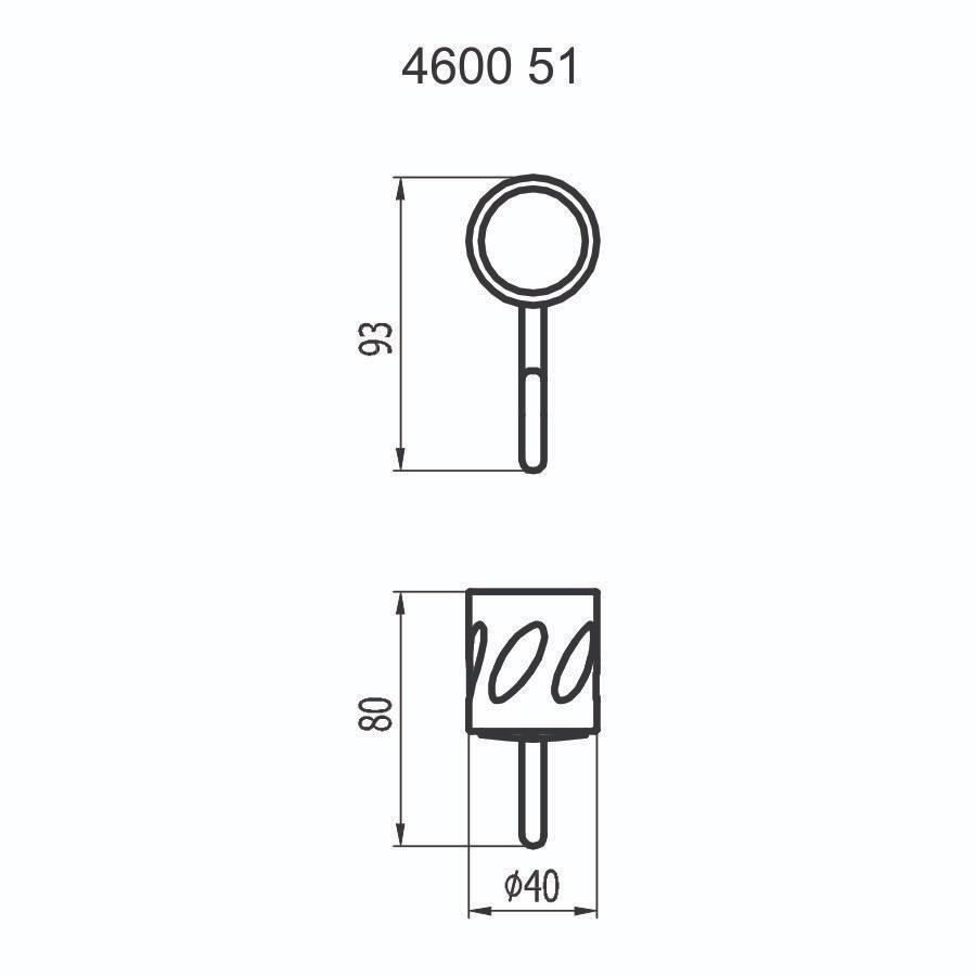 Cabide Simples 4600 C51