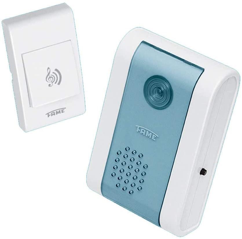 Campainha Polifônica Wireless com Controle Remoto 127V