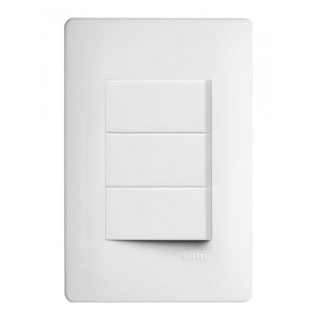 Conjunto 3 Interruptores Paralelos 16A/250V