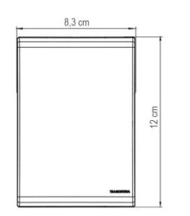 Conjunto 4x2 Interruptor Simples e Tomada 2P+T 10A 250V Liz - Branco
