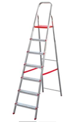 Escada de Alumínio com 7 Degraus