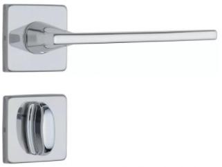 Fechadura Quadrada para Banheiro Classic 3000 - Roseta