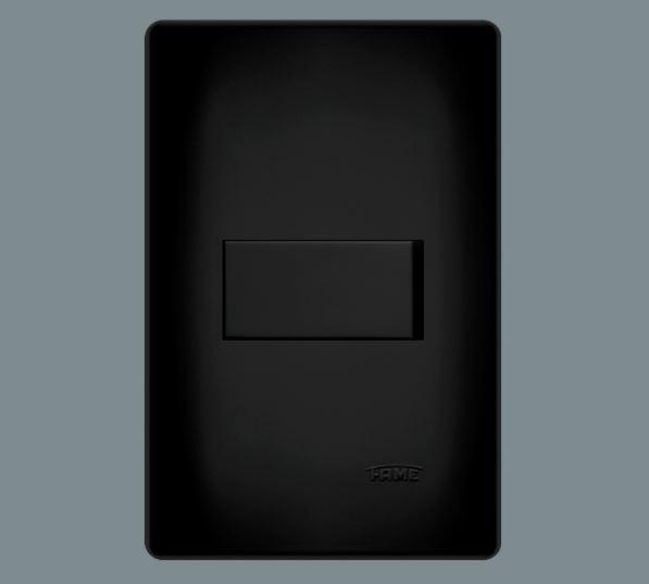Interruptor Simples 16A/250V~ - Habitat Black