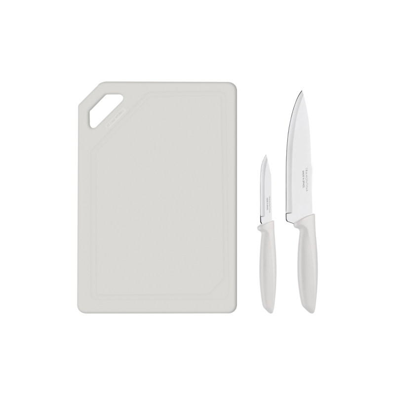 Kit para Carnes e Legumes Plenus 3 Peças - Off White