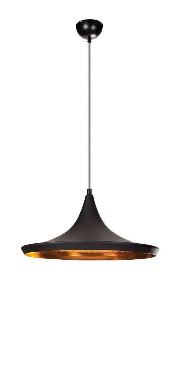Luminária Pendente Indisco - Preto