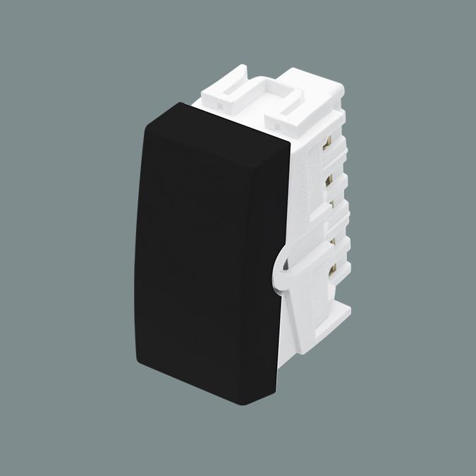 Módulo Interruptor Intermediário 16A/250V - Preto