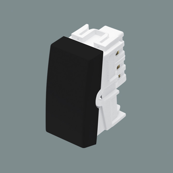 Módulo Interruptor Paralelo 16A/250V - Preto