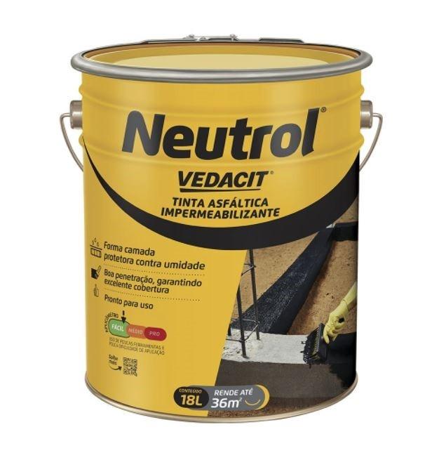 Neutrol Tinta Asfáltica 18 Litros