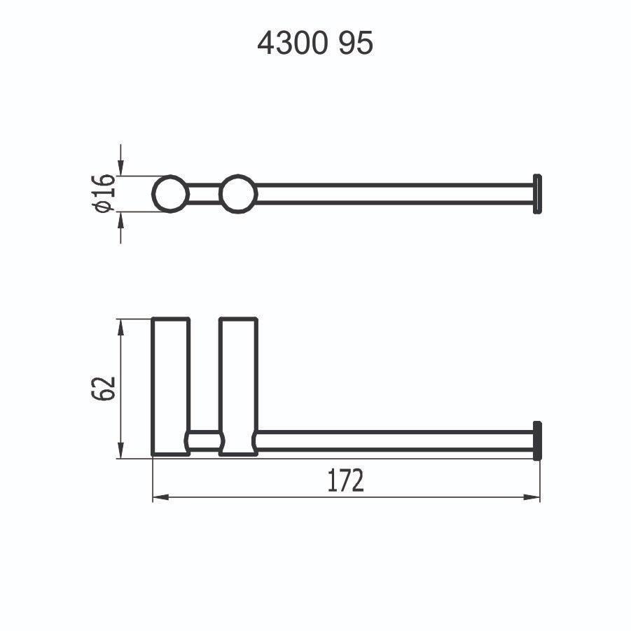 Papeleira 4300 C95