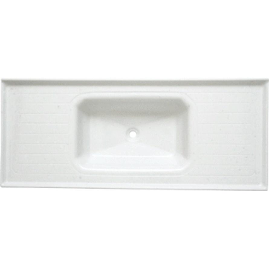 Pia de Fibra para Cozinha 120x50 cm