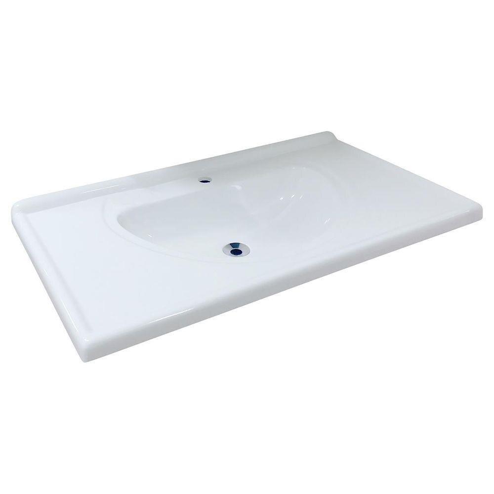 Pia Para Banheiro Monaco Roralit - Branca