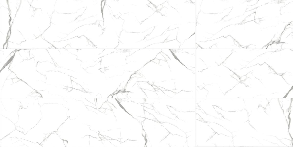 Porcelanato Carrara Acetinado 53X106Cm