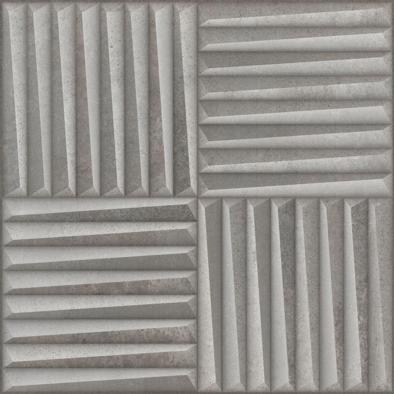 Porcelanato Motriz Cinza 59x59 Cx.1,39