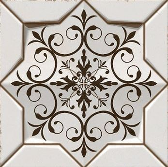 Porcelanato Rabat Mandala Ref: 2126 21x21Cm