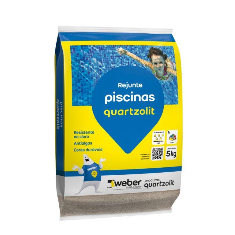 Rejunte Quartz Piscina 5kg - Branco