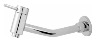 Torneira Metal Lavatorio/Cozinha Parede Ref: 4020 1/4v