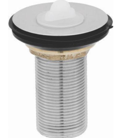 Válvula Lavatório Com Ladrão 1603 - Metal