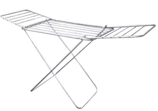 Varal De Chão Com Pé e Aba 100x0,56cm