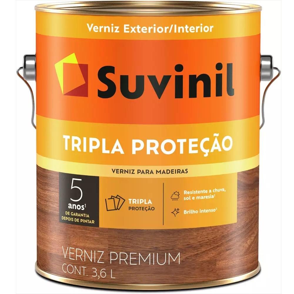 Verniz Tripla Proteção Fosco 3,6L - Natural