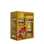 Kit Especial Banho de Verniz Forever Liss com Shampoo 300ml + Máscara 250ml