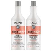 Kit Inoar CicatriPontas Shampoo + Condicionador 1L