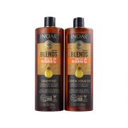 Kit Inoar Coleção Blends Shampoo + Condicionador 1L