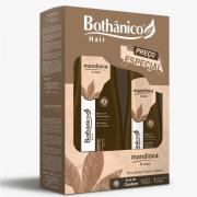 Kit Shampoo 500ml + Condicionador 250ml Bothânico Hair Mandioca E Coco