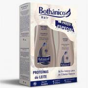 Kit Shampoo 500ml + Condicionador 250ml Bothânico Hair Proteínas Do Leite