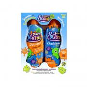 Kit Shampoo Condicionador Beauty Slime Azul Neon 200ml