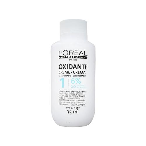 Creme Oxidante L'Oréal Profissional 6% 20 Volumes 75ml
