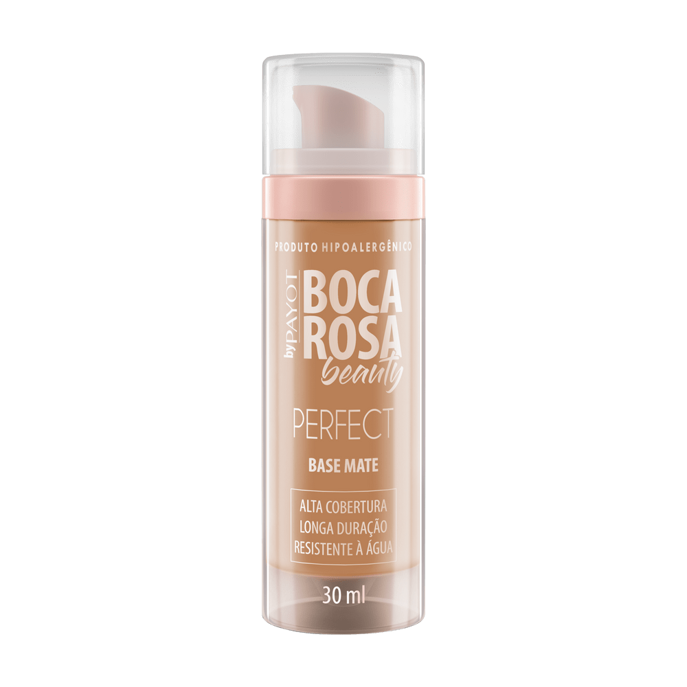 Base Líquida Boca Rosa Beauty By Payto Matte Francisca 30ml