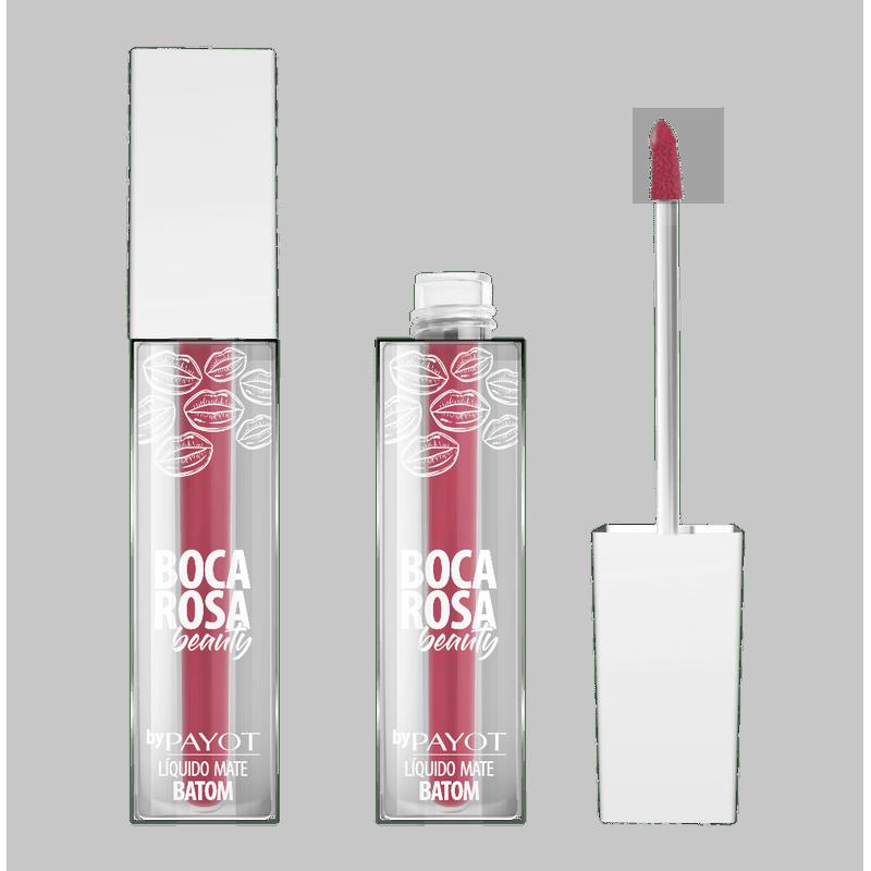 Batom Liquido Matte Boca Rosa Beauty By Payot #BocaRosaVintage 4ml