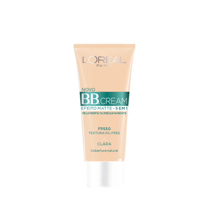 BB Cream L'Oréal Paris Efeito Matte Clara 30ml