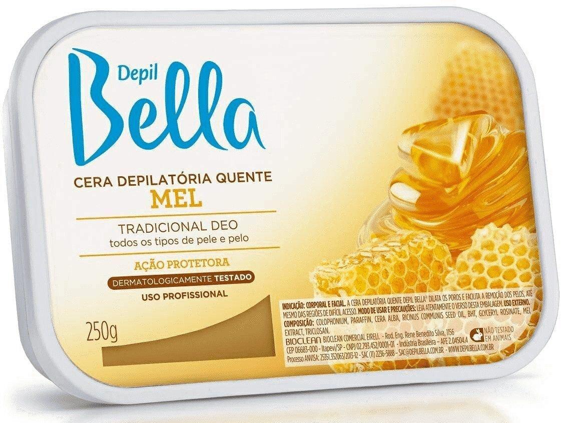 Cera Depill Bella Mel de Abelha 250g