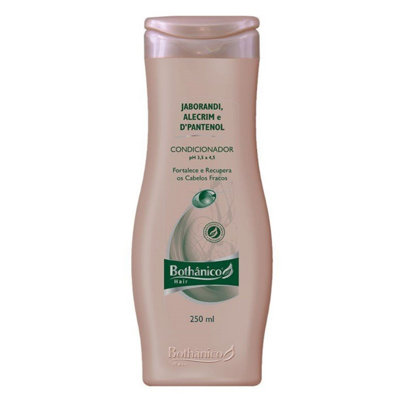 Condicionador Bothânico Hair Jaborandi Alecrim E D-Pantenol 250ml