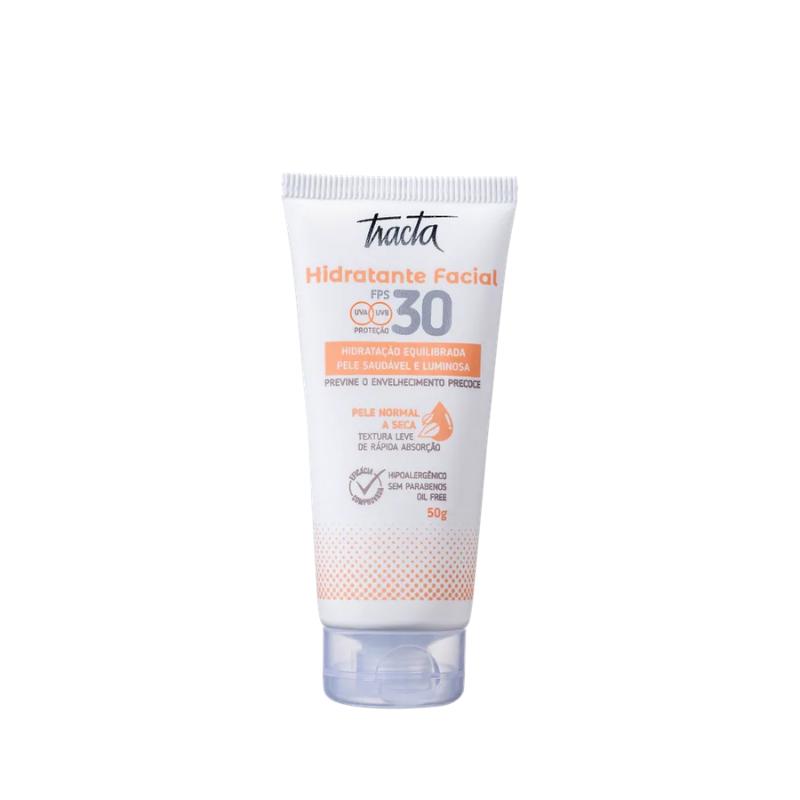Creme Hidratante Facil Tracta FPS30 50G