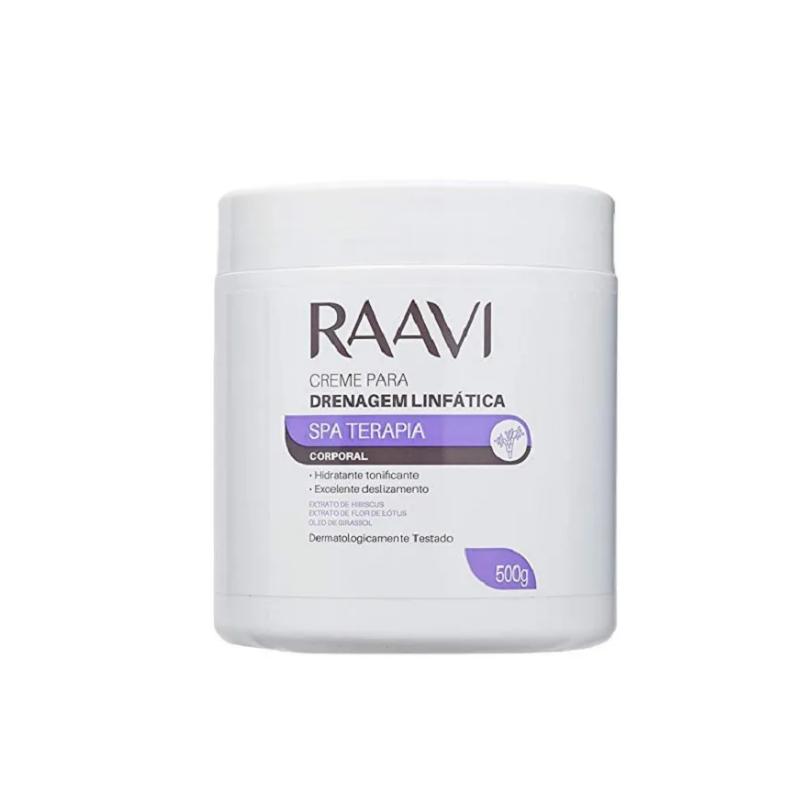 Creme Drenagem Linfática Raavi Spa Terapia 1kg