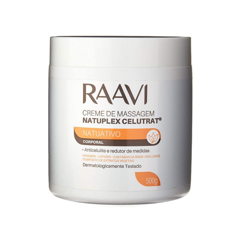 Creme Massagem Raavi Natuplex 500g