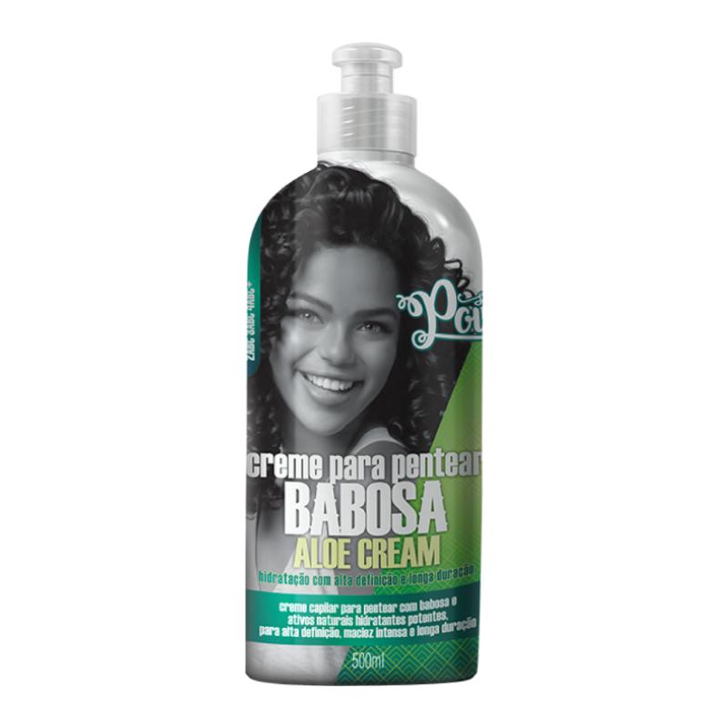 Creme Para Pentear Soul Power Babosa Aloe Cream 500g