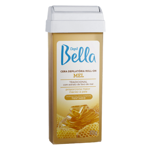 Cera Depill Bella Depilatória Roll On Mel 100g