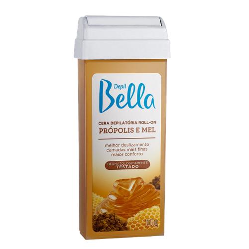 Cera Depill Bella Depilatória Roll-on Própolis E Mel 100g